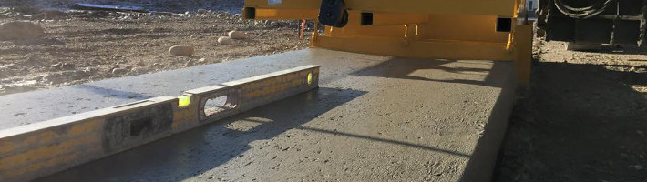 Concrete Construction | Slipform Sidewalks | Treasure State, Inc. | Belgrade, MT