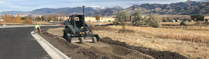 Concrete Construction | GPS Fine Grading | Treasure State, Inc. | Belgrade, MT