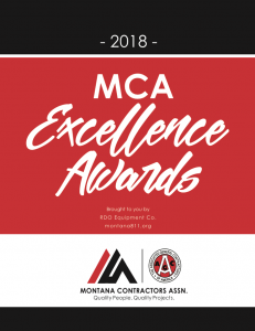 2018 MCA Excellence Awards | Treasure State Inc. | Belgrade, MT