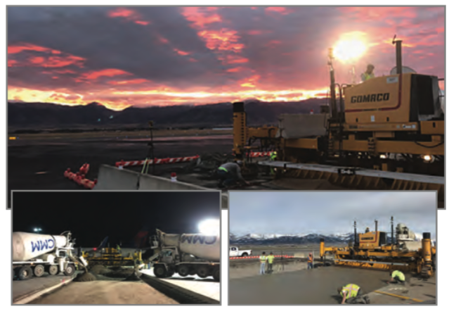 Bozeman Airport | 2018 Paving Project | Treasure State Inc. | Belgrade, MT