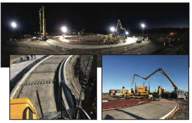 Baxter/Love Lane Roundabout| 2018 Paving Project | Treasure State Inc. | Belgrade, MT